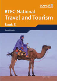 BTEC Nationals Travel and Tourism Student Book 3 by Diane Sutherland image