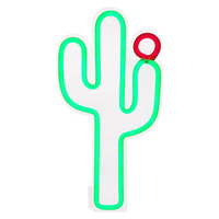 Sunnylife Cactus Neon LED Wall - Small