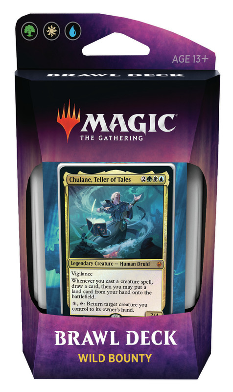 Magic The Gathering: Throne of Eldraine Brawl Deck- Wild Bounty