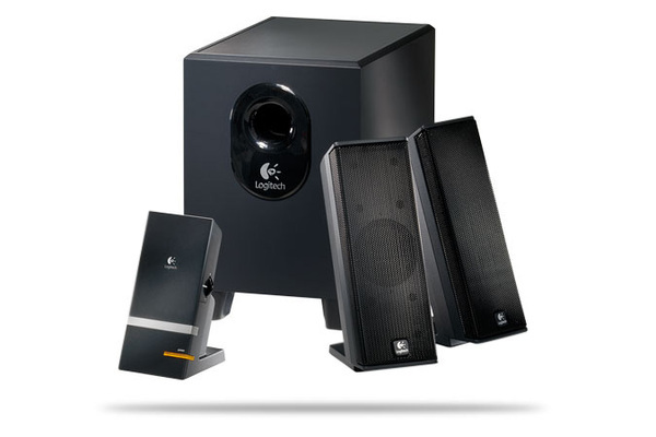 Logitech X240 Speaker System with Subwoofer 2:1