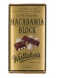 Whittaker's Milk Macadamia Block - 250g