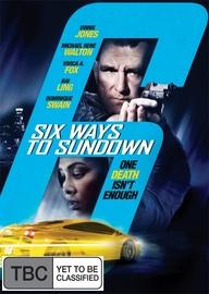 6 Ways to Sundown on Blu-ray