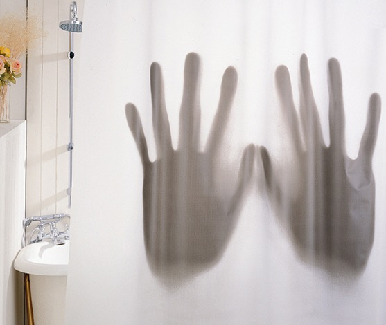 IGGI: Scary Shower - Novelty Curtain