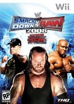 WWE SmackDown! vs. RAW 2008 for Nintendo Wii