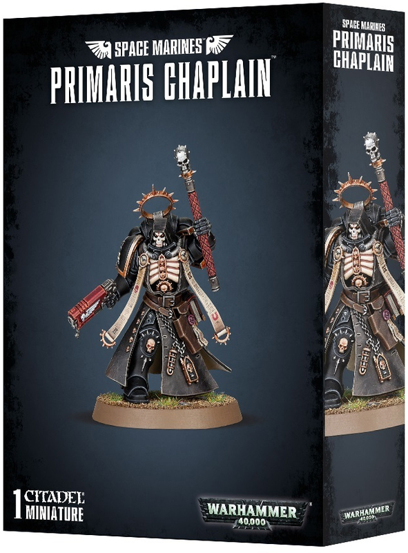 Warhammer 40,000 : Space Marine Primaris Chaplain