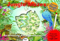 Jungle Mazes: with magic pen by James Harrison image