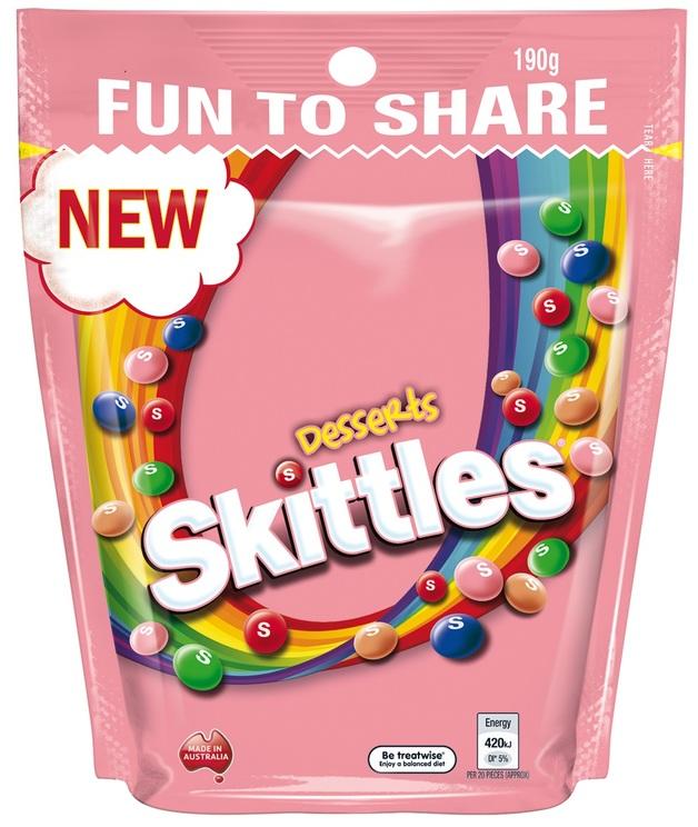 Skittles Desserts (190g)