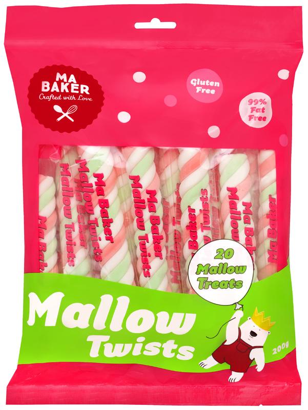 Ma Baker: Mallow Twists (200g)