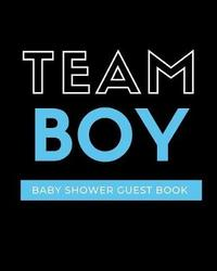 Team Boy Baby Shower Guest Book by Bump Game Publishing