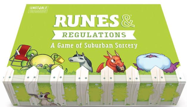 Runes & Regulations - Card Game