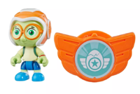 """Top Wing: Timmy Turtle - 3"""" Action Figure & Badge image"""