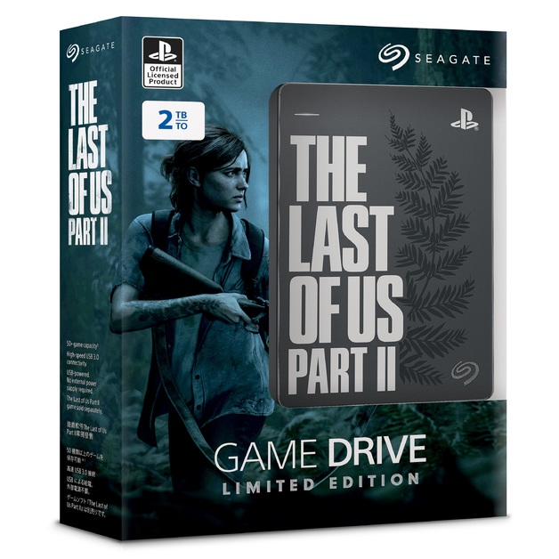 2TB Seagate Game Drive for PS4 - The Last of Us Part II Special Edition for