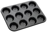 Stellar Bakeware - Muffin Pan, 12 Cup