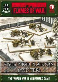 Flames of War - 7.5cm PaK40 Platoon (Winter)