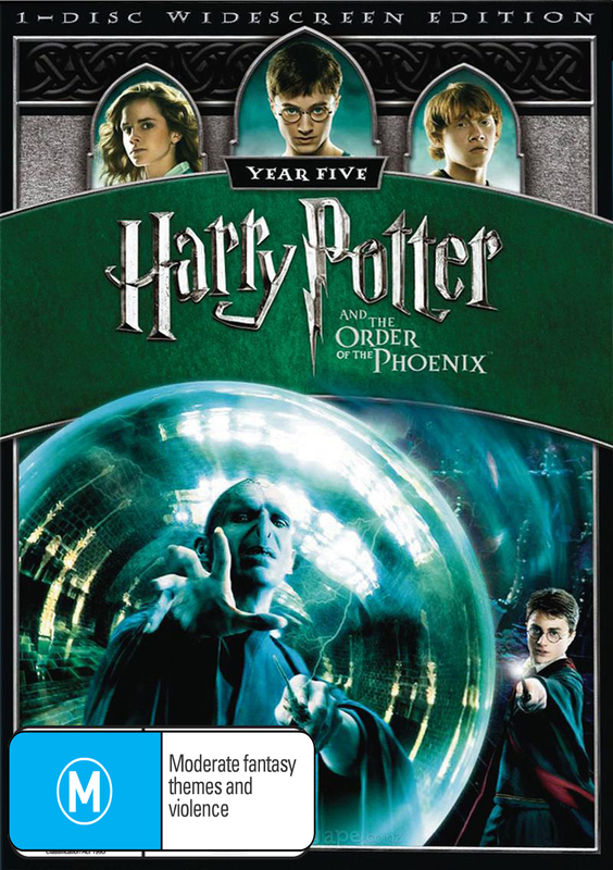 Harry Potter and the Order of the Phoenix - 1 Disc on DVD