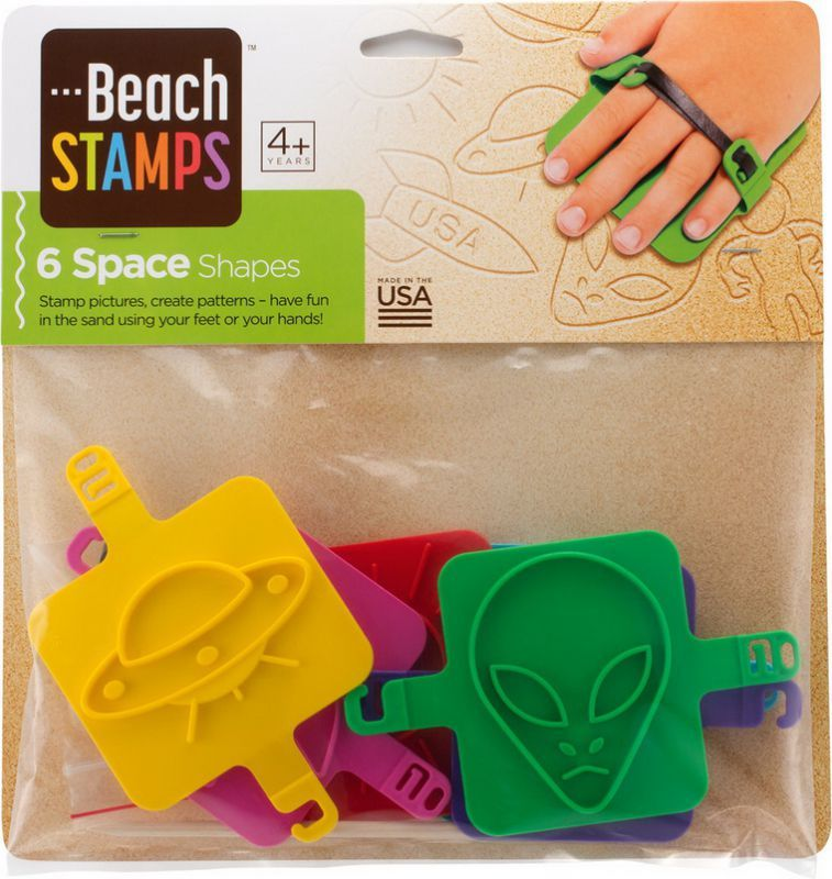 Beach Stamps - Space Shapes image