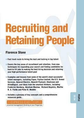 Recruiting and Retaining People by Florence M Stone image