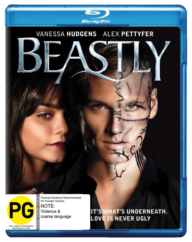 Beastly on Blu-ray
