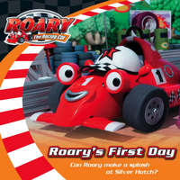 Roary the Racing Car : Roary's First Day (Book and CD)