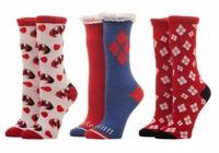 DC Comics: Harley Quinn - Crew Sock Set (3-Pack)
