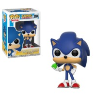 Sonic the Hedgehog - Sonic (with Emerald) Pop! Vinyl Figure image