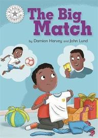 Reading Champion: The Big Match by Damian Harvey image