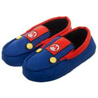 Super Mario: Suit Up - Moccasin Slippers (Large)