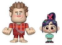 Wreck-It Ralph: Ralph + Vanellope - Vynl. Figure 2-Pack