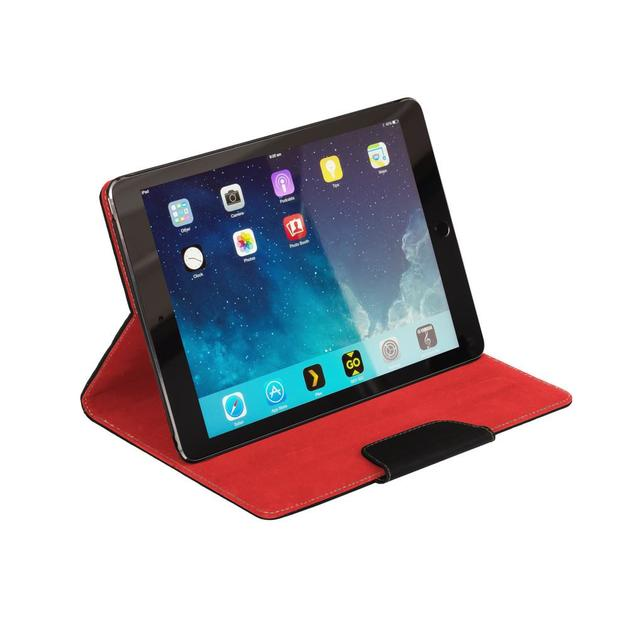 NVS: Folio Stand For iPad Air 2 (Black/Red)