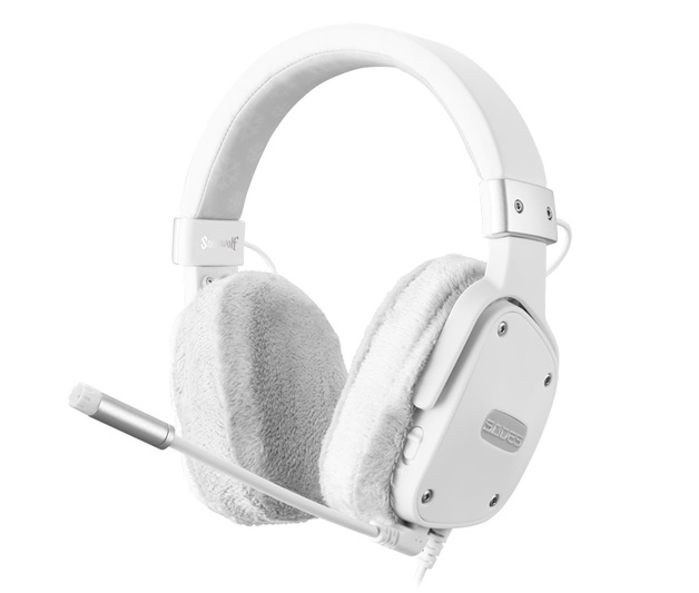 SADES Snow Wolf Gaming Headset for PC