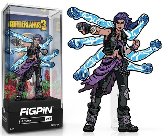 Borderlands 3: Amara (#255) - Collectors FiGPiN