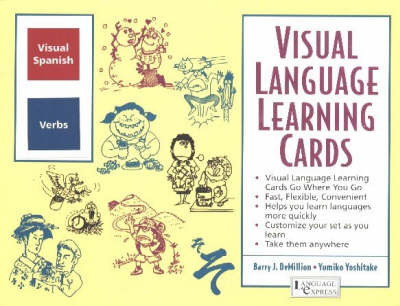 Spanish Verbs: Visual Language Learning Cards by B. J. Demillion image