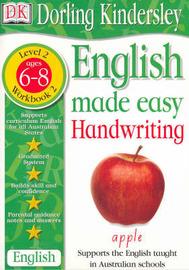English Made Easy: Handwriting: Level 2, Workbook 2 by Dorling Kindersley image