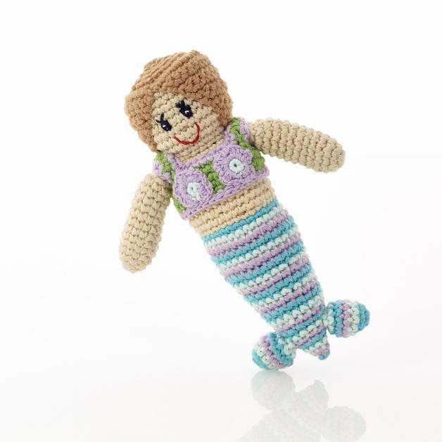 Pebble: Mermaid Rattle - Mini