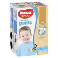 Huggies Ultimate Nappy Pants: Jumbo Pack - Junior Boy 16kg+ (45)