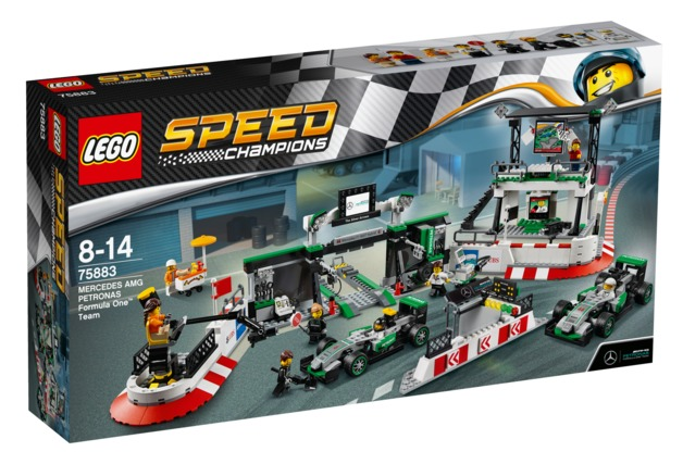 LEGO Speed Champions - Mercedes Amg Petronas Formula One Team (75883)