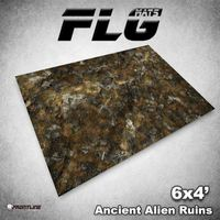 FLG Ancient Alien Ruins Neoprene Gaming Mat (6x4)