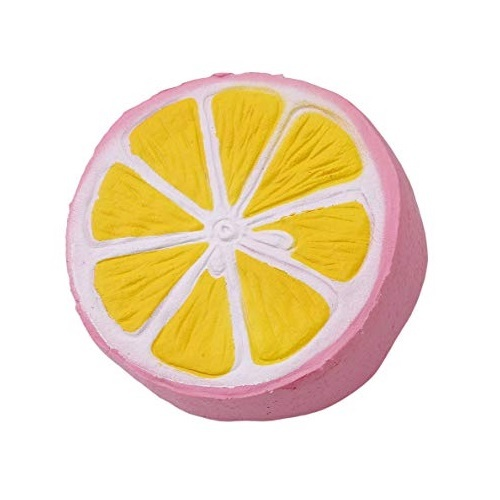 I Love Squishy: Pink Lemon Squishie Toy (11cm)