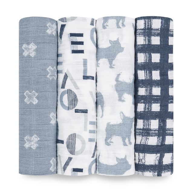Aden + Anais: Classic Swaddle - Waverly (4 Pack)