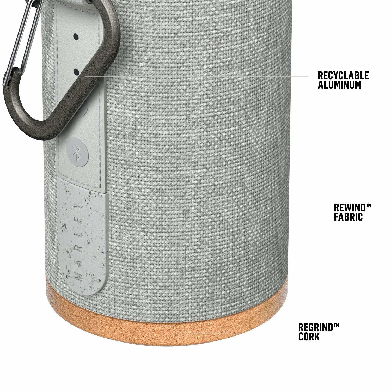 Marley: No Bounds Sport Bluetooth Speaker - Grey image