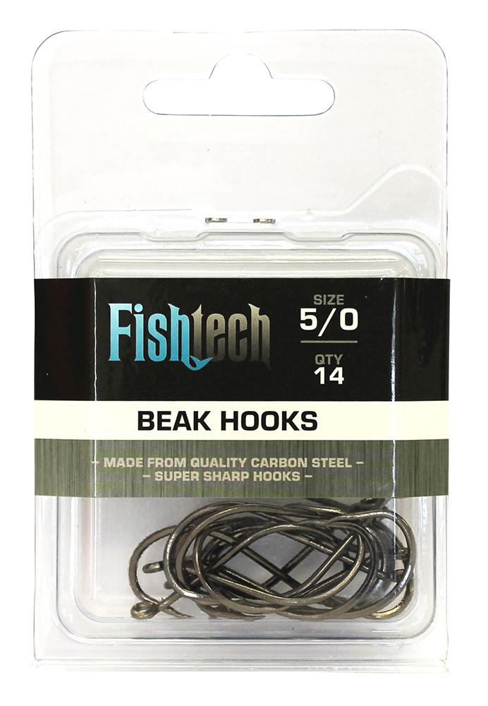 Fishtech Beak Hooks 5/0 (14 per pack) image