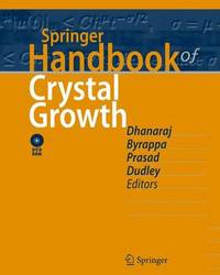 Springer Handbook of Crystal Growth image
