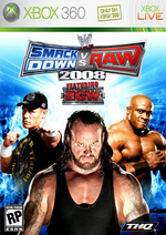 WWE SmackDown! vs. RAW 2008 (Classic) for Xbox 360