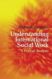 Understanding International Social Work by Richard Hugman image