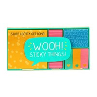 Happy Jackson Sticky Note Set- Wooh! Sticky Things