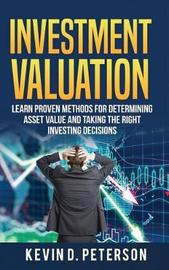 Investment Valuation by Kevin D Peterson image