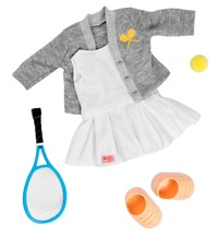 Our Generation: Regular Outfit - Retro Tennis Outfit