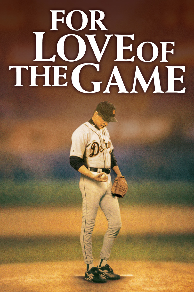 For The Love Of The Game on DVD image