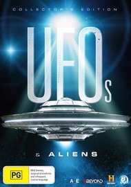 UFO & Aliens: The Collector's Edition on DVD