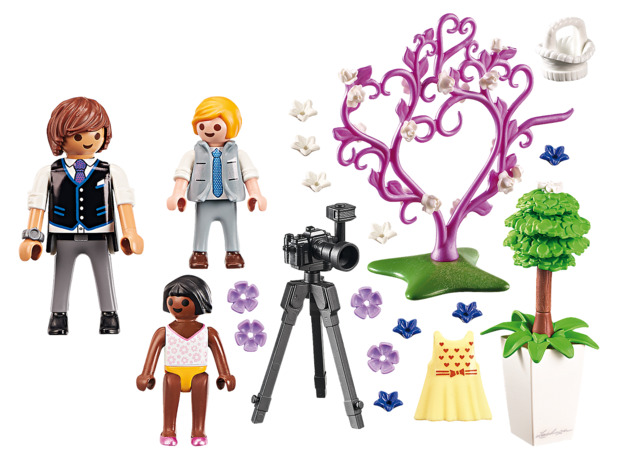 Playmobil: City Life - Flower Children & Photographer (9230)